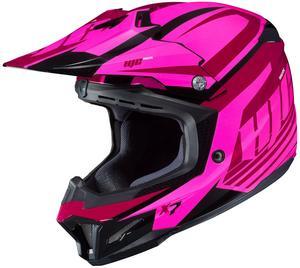 HJC CL-X7 Bator Helmet Pink (MC-8) (Pink, X-Small)
