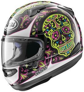 Arai Signet-X El Creneo Full Face Motorcycle Helmet Pink Adult Size L