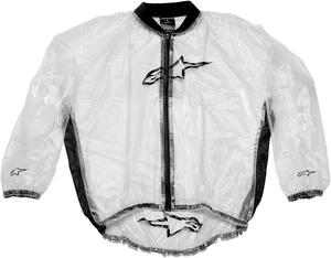 Alpinestars Mud Coat Clear PVC Shell Jacket Waterproof Small