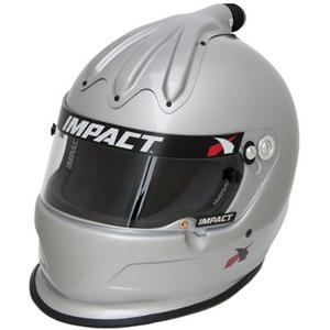 IMPACT RACING Large Silver Super Charger Helmet P/N 17015508