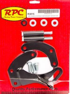 RACING POWER CO SBC Driver Side Power Steering Pump Bracket Kit P/N R3815