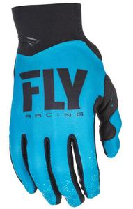 Fly Racing Pro Lite Youth Gloves (2018) (Blue, Large)