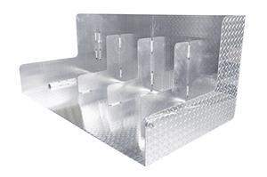 Dee Zee DZ91741X Specialty Series Combo Auxiliary Tool Box/Liquid Transfer Tank