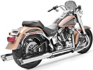 Freedom Performance HD00312 3 1/4in. Racing Slip-Ons - Chrome/Chrome Tips