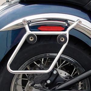 National Cycle Cruiseliner Chrome Mount Kit for QR Saddlebags KIT-SBC406