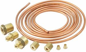 QUICKCAR RACING PRODUCTS 6 ft Copper Gauge Line Kit P/N 61-7101
