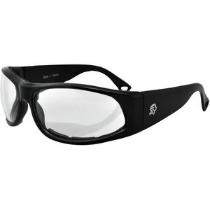 Bobster Eyewear California Foam Frame Sunglasses (Clear)
