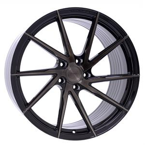 "22"" STANCE SF01 BLACK CONCAVE WHEELS RIMS FITS MERCEDES W216 CL550 CL55 CL65"