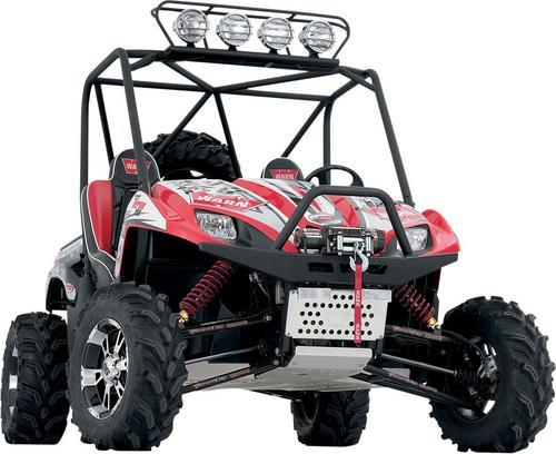 Warn Front Bumper W Integrated Winch Mount For Polaris Ranger MOST 83340 Motoroso