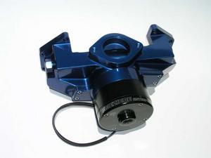 MEZIERE Blue Aluminum 100 Series Electric Water Pump Kit BBM P/N WP106B
