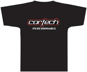 Tourmaster Cortech Logo Tee Shirt (Black, XXX-Large)