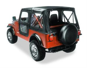 Bestop Replace-A-Top Fabric-only Soft Top - Jeep 1976-1983 CJ5