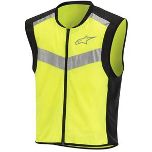 Alpinestars Flare High-Visibility Vest Hi-Vis (Yellow, XX-Large)
