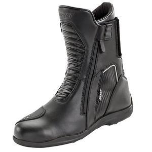 Joe Rocket Nova Water Resistant Motorcycle Boots Black/Carbon Mens Size 8