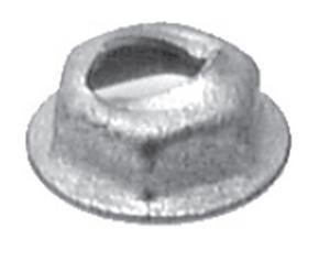 "Thread Cutting Nut 3/16"" Stud Size 1/2"" Washer Diameter"