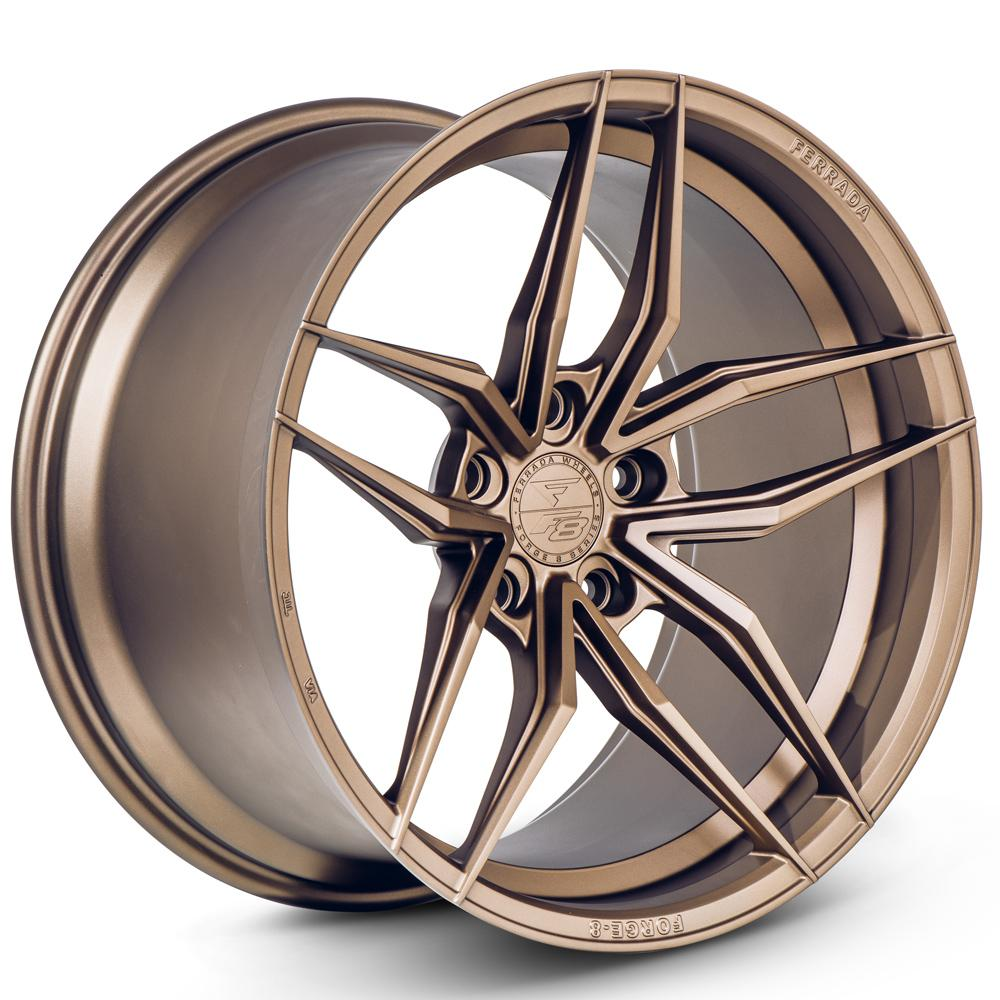 "20"" FERRADA F8-FR5 BRONZE FORGED CONCAVE WHEELS RIMS FITS NISSAN 370Z"