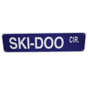 Voss 624SDC 6x24in. Street Sign - Ski-Doo Cir.