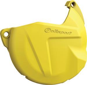 Polisport Clutch Cover Protector For Suzuki RMZ 450 11-17 Yellow