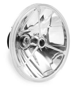 Adjure T70400 7in. Wave-Cut Trillient Headlight with Black Dot