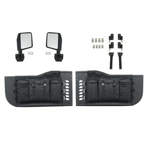 Paramount Automotive 51-0706 Tubular Pocket Doors Fits 07-18 Wrangler (JK)