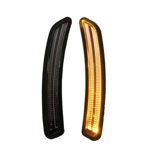 Helix Mini Cooper F55 F56 F57 Front LED Side Marker Lights - Clear/Black/Amber