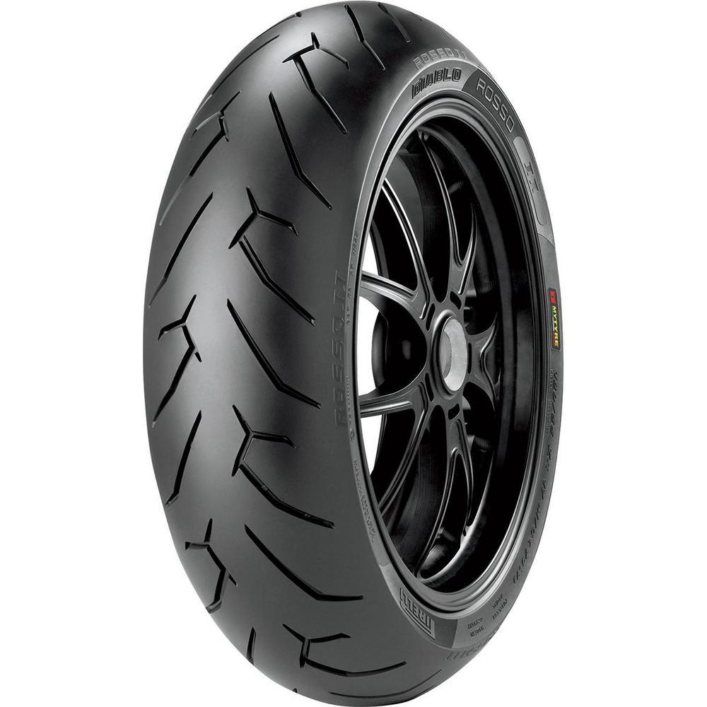 Pirelli 2072400 Diablo Rosso II Rear Tire - 240/45ZR17
