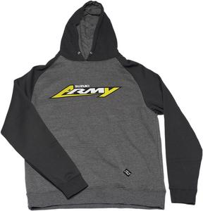Factory Effex Licensed Suzuki Army Pullover Hoody Charcoal/Black Youth Size M