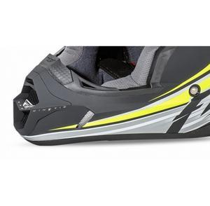 Fly Racing 73-4785 Mouthpiece for Kinetic Fullspeed Helmet - Matte Black/Hi-Viz