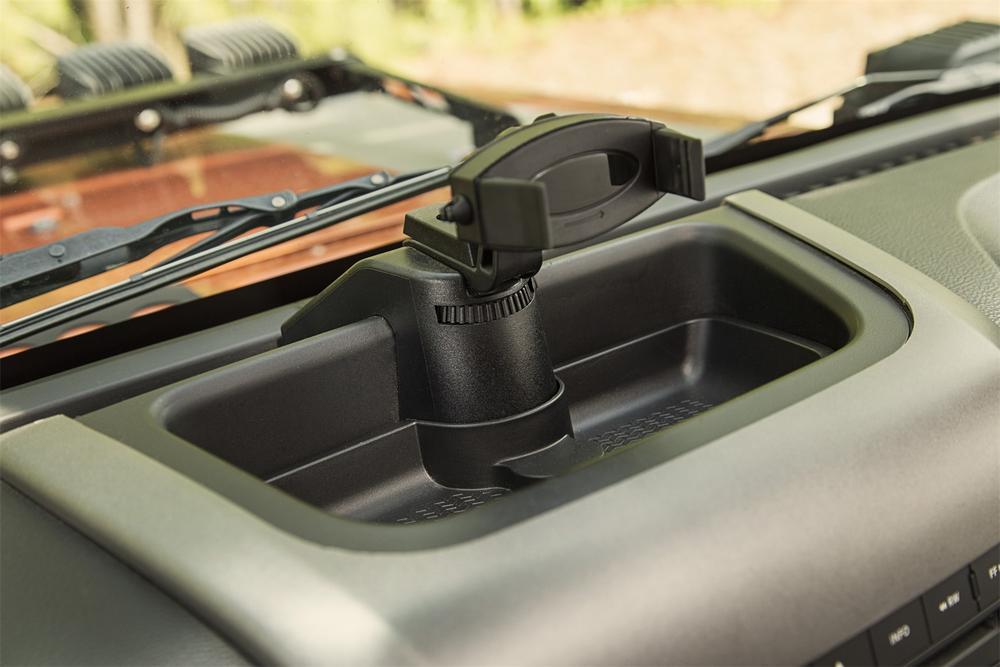 Rugged Ridge 13551.16 Dash Multi-Mount Phone Kit Fits Wrangler Wrangler (JK)