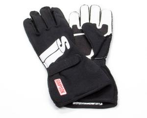 SIMPSON SAFETY Medium Black Double Layer Impulse Driving Gloves P/N IMMK