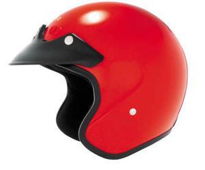 Cyber U-6 Motorcycle Open Face Helmet Red M