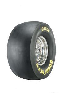 GOODYEAR 33.0 x 16.0-15 D-6 Compound Drag Slick Tire P/N D2052