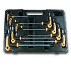 9PC T-4 HANDLE STAR KEY WR SET (AST-1023)