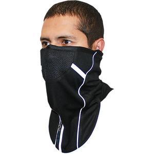 Schampa Facefit Fleece Face Mask (Black, OSFM)