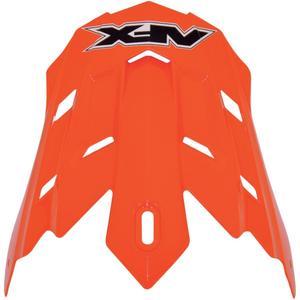AFX 0132-0515 Helmet Peak for FX-17/Y Solid - Orange