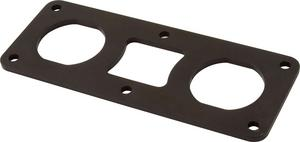 QUICKCAR RACING PRODUCTS Flat Remote Battery Terminal Bracket P/N 57-708