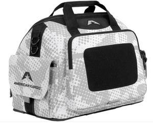 American Kargo 3512-0149 Track Bag - White