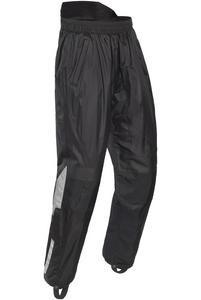 Tourmaster Sentinel 2.0 Womens Rainsuit Pants with Nomex (Black, Large)