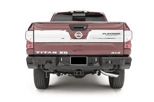 Fab Fours NT16-W3751-1 Premium Rear Bumper Fits 16-18 Titan XD