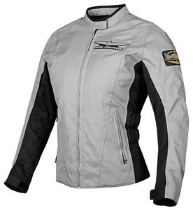 Honda Collection Gold Wing Textile Touring Womens Jacket (Gray, Large)