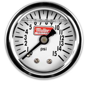 Mallory 29138 Fuel Pressure Gauge