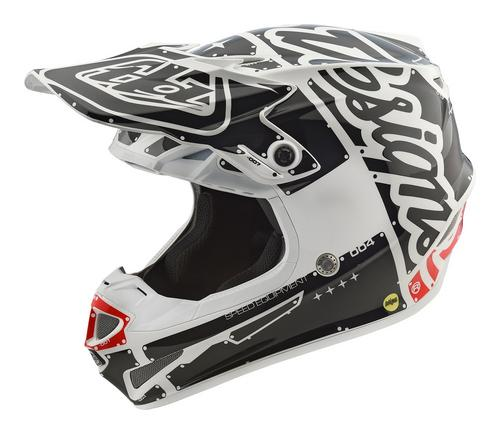 Troy Lee Designs 2018 SE4 Polyacrylite Helmet Factory White Size S