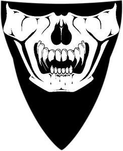 Schampa Half-Face Stretch Mask Clown VNG008A