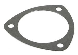"Trans-Dapt Performance 3-1/2"" Triangular 3-Hole Collector Gasket; 1/16"" Hi-Temp"