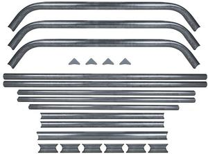 Allstar Performance Roll Bar/Cage Struts For Mini Enduro Roll Cage P/N 99224