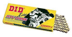 D.I.D 520ATV2-110 520 ATV Series X-Ring Sealed Chain - 110 Links - Gold