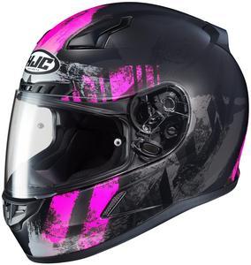 HJC CL-17 Arica Helmet Semi-Flat Pink (MC-8SF) (Pink, Medium)