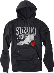 Factory Effex Licensed Suzuki Rider Pullover Hoodie Black Youth Size L