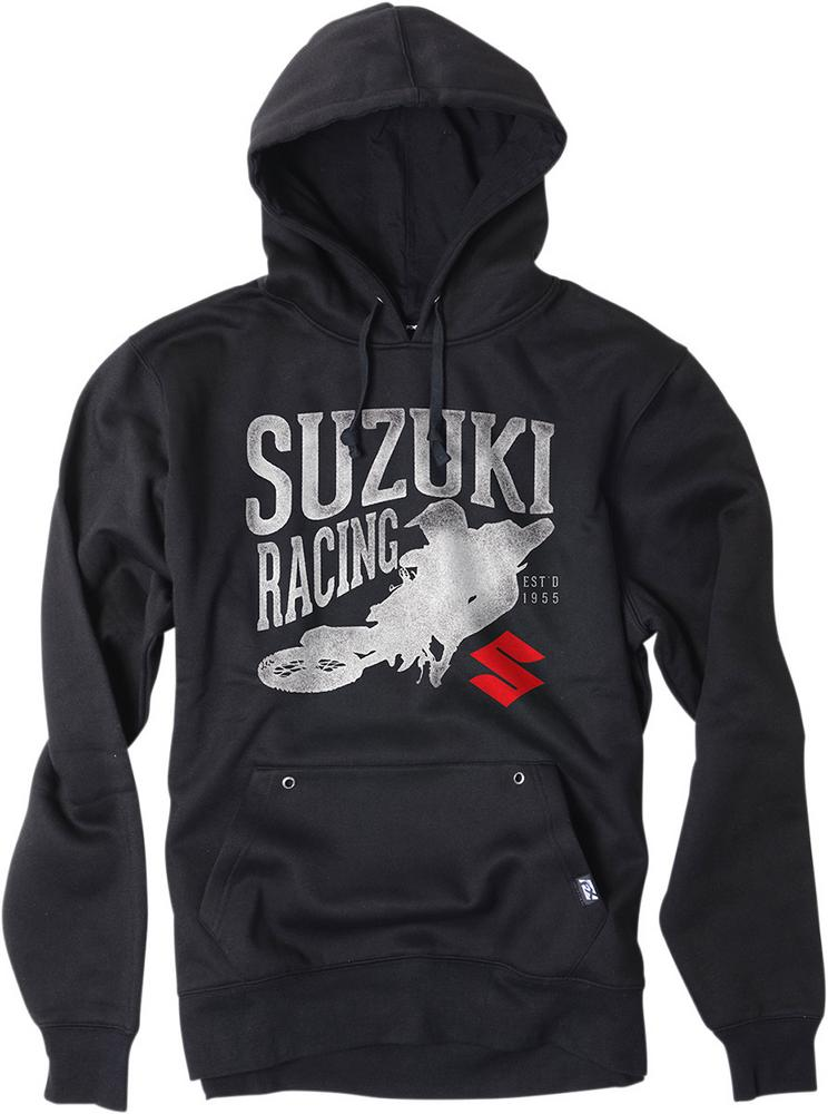 Factory Effex Licensed Suzuki Rider Pullover Hoodie Black Youth Size M