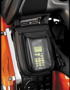 Hopnel H18LPC-2BK Premium Double Add-A-Pocket with Clear Pouch